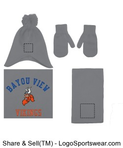 Embroidered Childrens Knit Set Design Zoom
