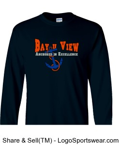 Anchored 100% Heavyweight Ultra Cotton Long Sleeve Adult T-Shirt Design Zoom