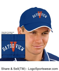 Embroidered Port Authority Signature - Dry Zone Cap Design Zoom