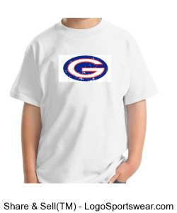 Gildan Youth Ultra Cotton® T-shirt Design Zoom